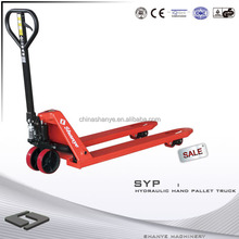 Hot Sale SHANYE hand pallet lifter