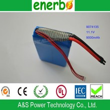 High Power Rechargeable Lithium Ion Batteries Powered Ride on Cars 12V 9000mah Battery Manufactured by China Battery Supplier