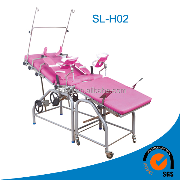 gynecological examination table, labor and delivery beds, CE FDA certified gynecology delivery bed