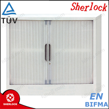 high quanlity Knocked Down Structure Office use Metal Storage Roller Shutter Door Tambour Filing Cabinet