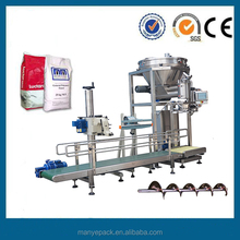 Powder packing machine 25kg 50kg bag filling packing machinery