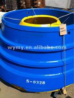 Resistant concave for cone crusher
