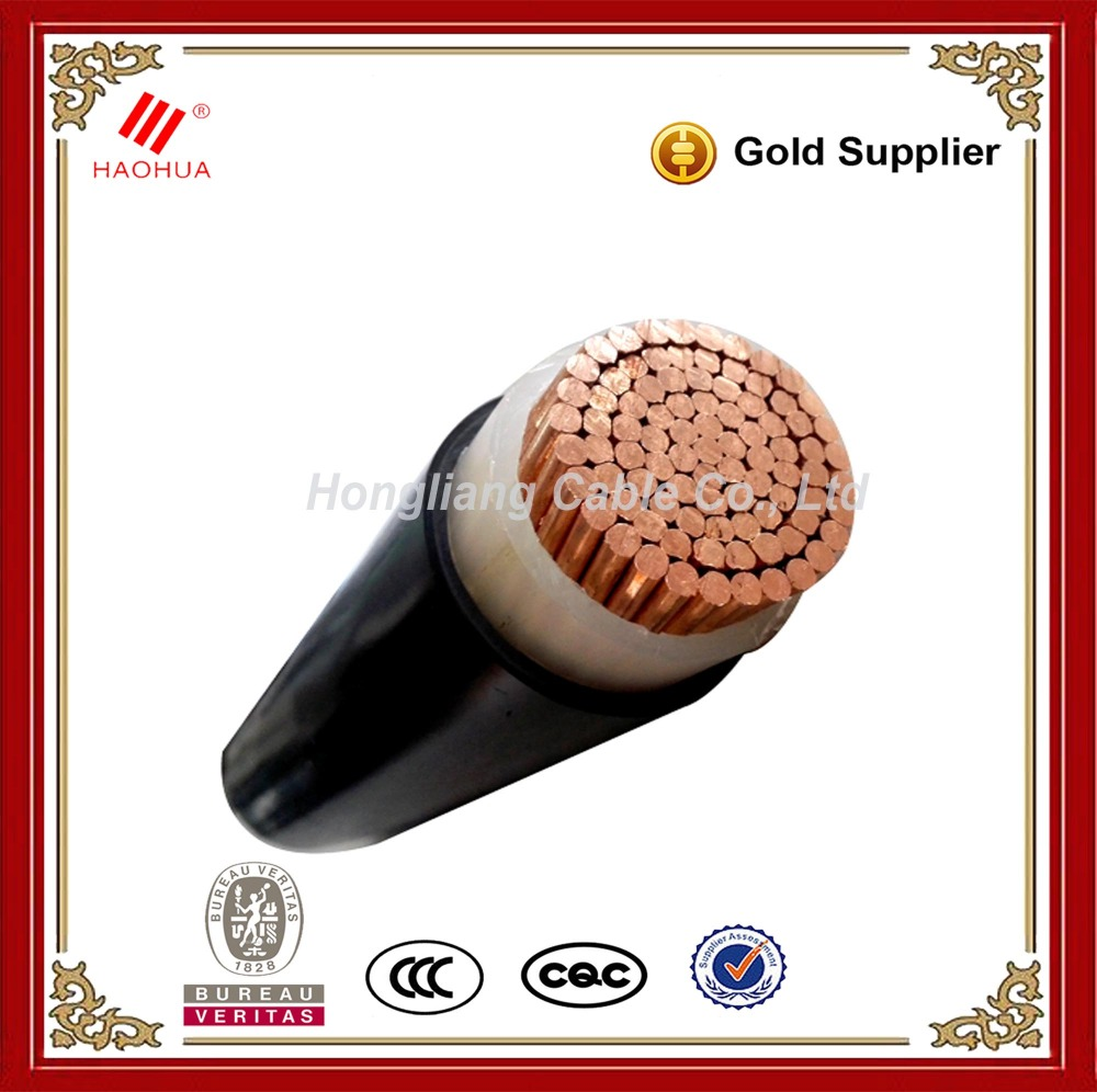 No.0129- LV low voltage 0.6/1kV Single core Copper XLPE power cable 500mm2 1 core price per meter