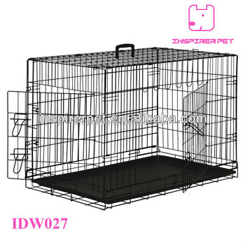 Iron Rustless Pet Cage Steel Folding Dog Cage