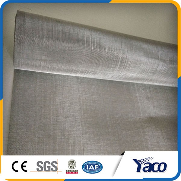 High temperature 1.2mx30m roll size stainless steel wire mesh