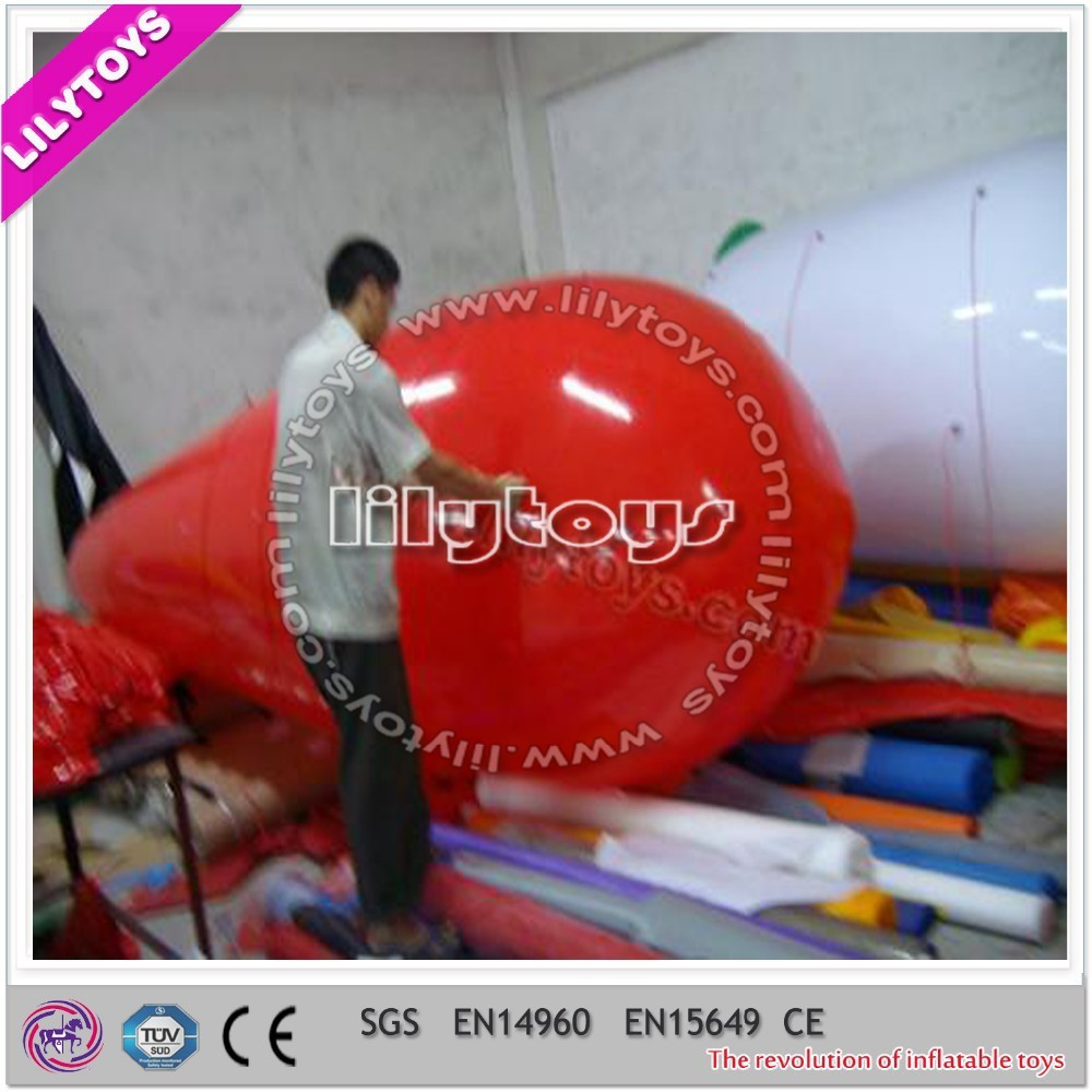 Top quality hot selling red inflatable cartoon character balloon with SGS