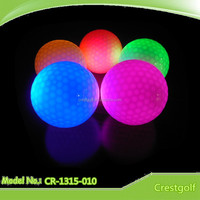 LED nighted golf balls