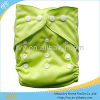 2015 China wholesale reusable solid PUL one size pocket baby dipaer XXL size fit for over 18kgs