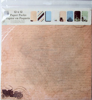 12x12 Paper pack pad printing factory in scrapbooking paper craft