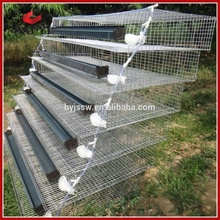 BAIYI BRAND Wire Mesh Metal Quail Breeding Cage And Water System