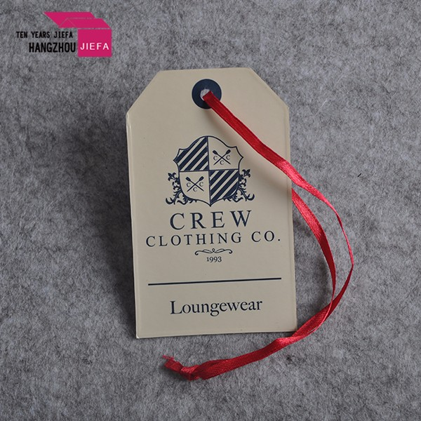 Profession Customized Swing Tag With Eyelet