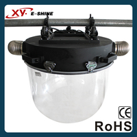 Outdoor upside ip54 round plastic dome light cover