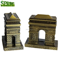 France style decoration Metal crafts Arc de triomphe famous building model in paris