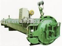 Electric heating rubber vulcanizing machine