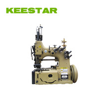 double needle four thread keestar 80700CD4HL chain stitch FIBC bag closing sewing machine
