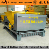 2016 hot sale GLY series concrete hollow core slab machine/hollow core slab production line