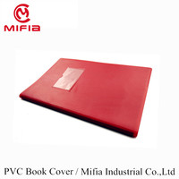 MIFIA Custom All A3 A4 A5 A6 Size PVC Embossed Plastic Leather School Book Cover