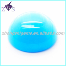 Synthetic Cat Eye Gems Stone 8mm Cabochon Round