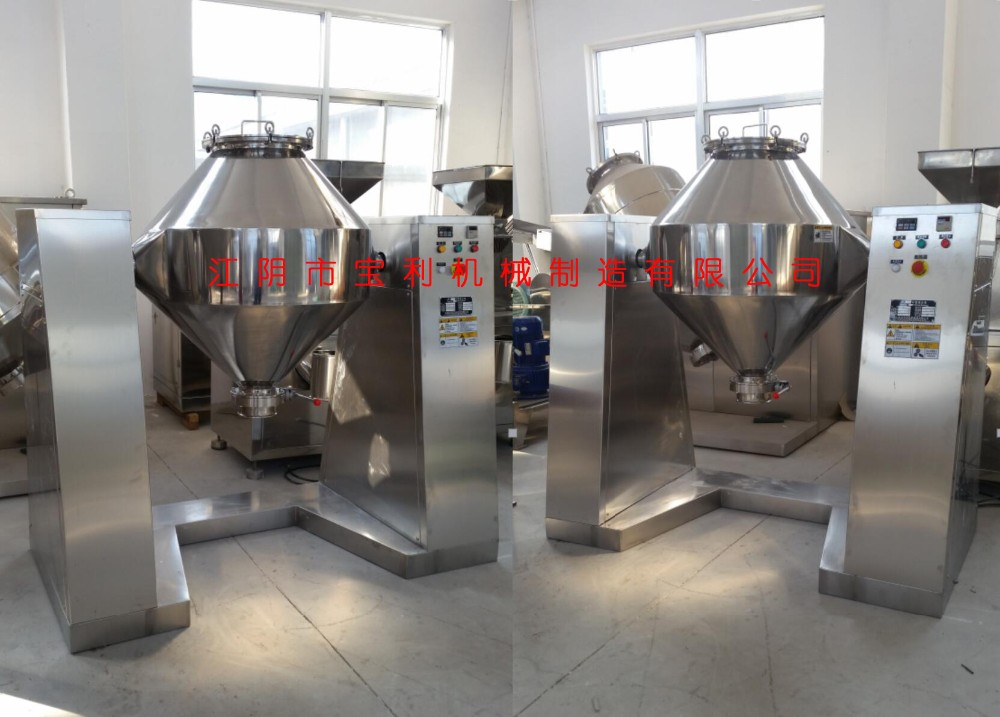 Stainless Steel Rotating Drum W food powder mixer machine / blender machines