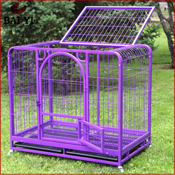Metal Folding Dog Crate For Sale / Portable Welded Dog Crate Kennel / Decorate Dog Crate