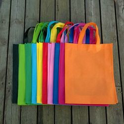 Promotional foldable non woven tote bag with custom logo