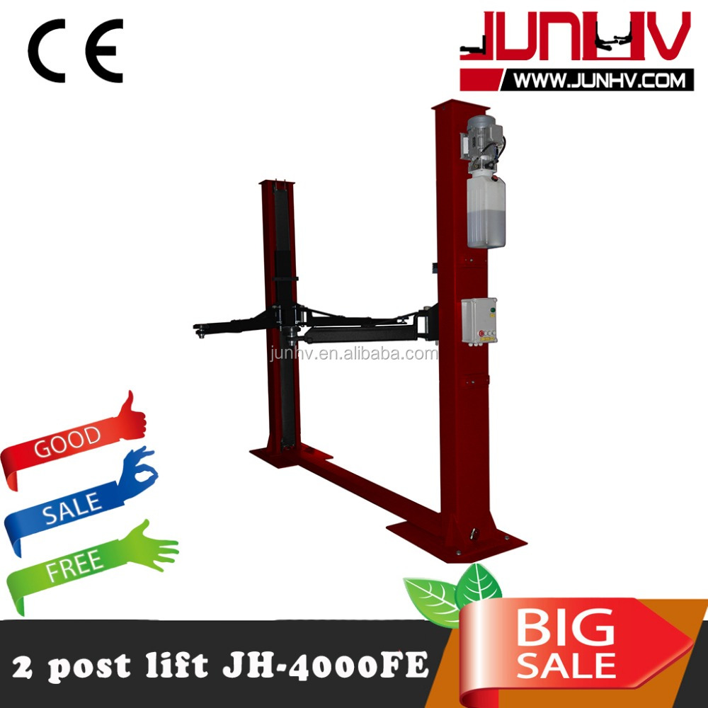 4000kg clear floor two post car lift/2 post car lifts /vehicle service lifters