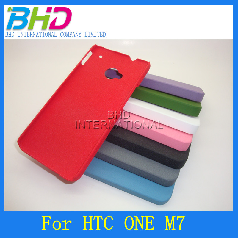 New case For HTC One m7 Quicksand Skin cover