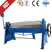 Factory direct small manual folding machine/hand bender/hand folder