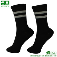 Bulk oem Men Dress Best 100 Cotton Mens Black Socks