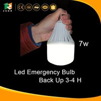 Intelligent control emergency led bulb 7w led rechargeable kit led light emergency