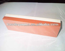 white red color 2 side sharpening stone with base for knife