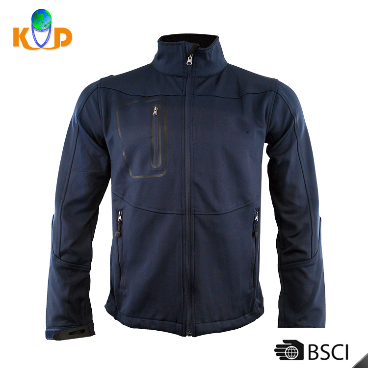 Wholesale fashion latest jacket designs fleece man outdoor coat men 100% polyester soft shell jacket