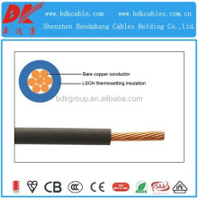 Competitive halogen free cable low voltage with fire retardant application