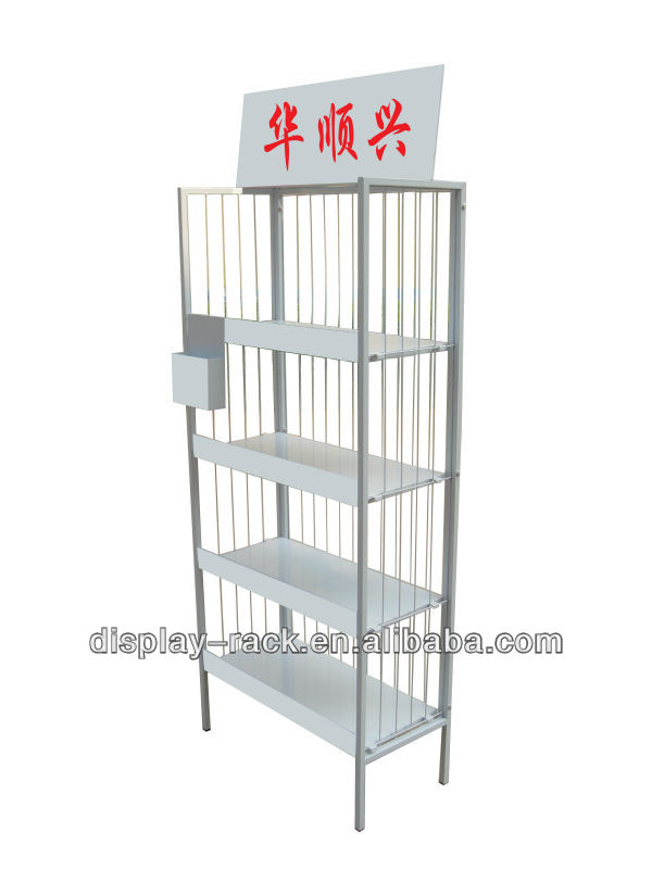 wire snack metal make up display stand HSX- 206