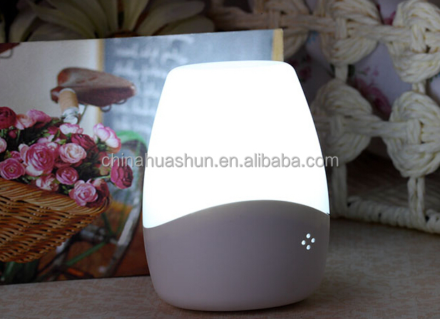 Huashun led color changing plug in night light For Promotional Gift/Goods
