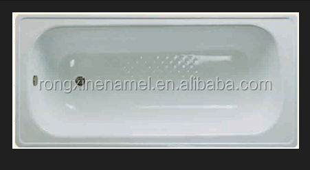 indoor bathtub factory enamel steel bathtub portable bathtub