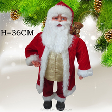 Hot Seller High Quality Wholesale Factory Direct Sale Christmas Santa Claus With Velvet Garment