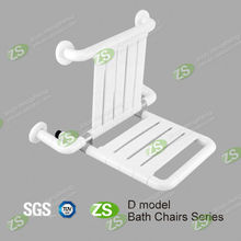 Stainless steel foldable shower seat