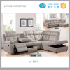 Living Room Furniture Recliner Sofa Set