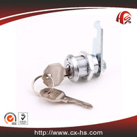 HS101 zinc alloy furniture hardware fitting metal screw thread cylinder antique cabinet lock