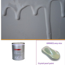 1K BASECOAT Super White CRYSTAL PEARL COLOR TINTERS for car paint