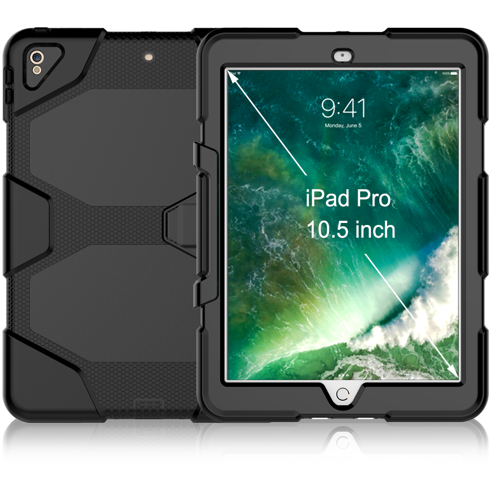 Stand Heavy Duty Combo Shockproof Case For iPad Pro 10.5 Case