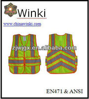 Day/Night Use High Visibility Safety Vest ANSI Standard