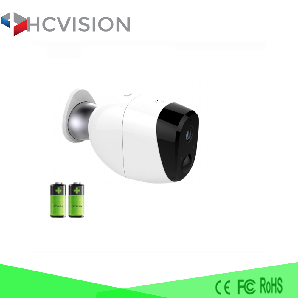 100% Wire-Free Battery IP Camera Outdoor Full HD Waterproof IP66 WiFi IP Camera Wireless Security System