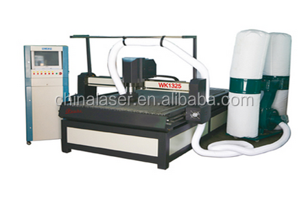 Best price China factory Advertising WK1325W CNC wood router for small metal processing
