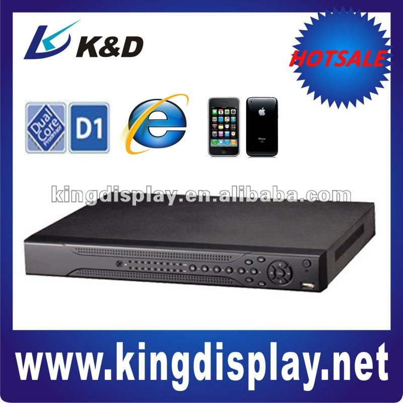 Economical H.264 Full D1 CCTV Standalone DVR with Free CMS Software