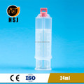 24ml 1:1 empty dual epoxy syringe