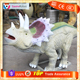 SH-RD080 Play Ground Dinsoaur Equipment, Outdoor Animatronic Triceratops