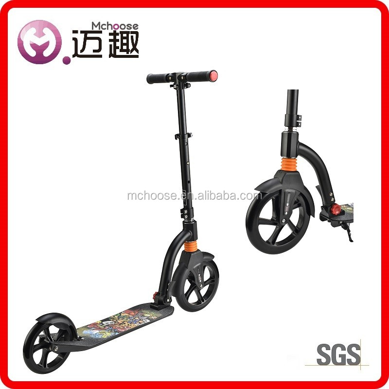 anti impact adult kick snow scooter 250W