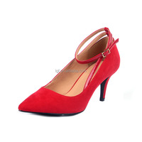 Summer style New Fashion Leather Shoes Sexy Fashion Classic Shallow Mouth Pure channel High Heels Red Bottom Shoes